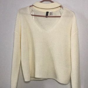 Scoop neck sweater from Fashion Nova